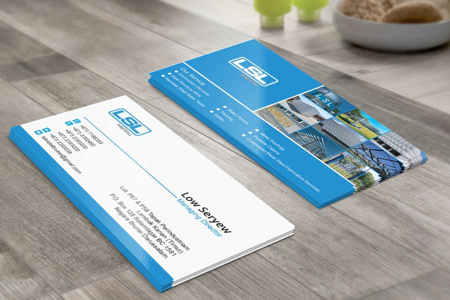Entry #64 by mdreyad for Design some Business Cards for LSL Group ...