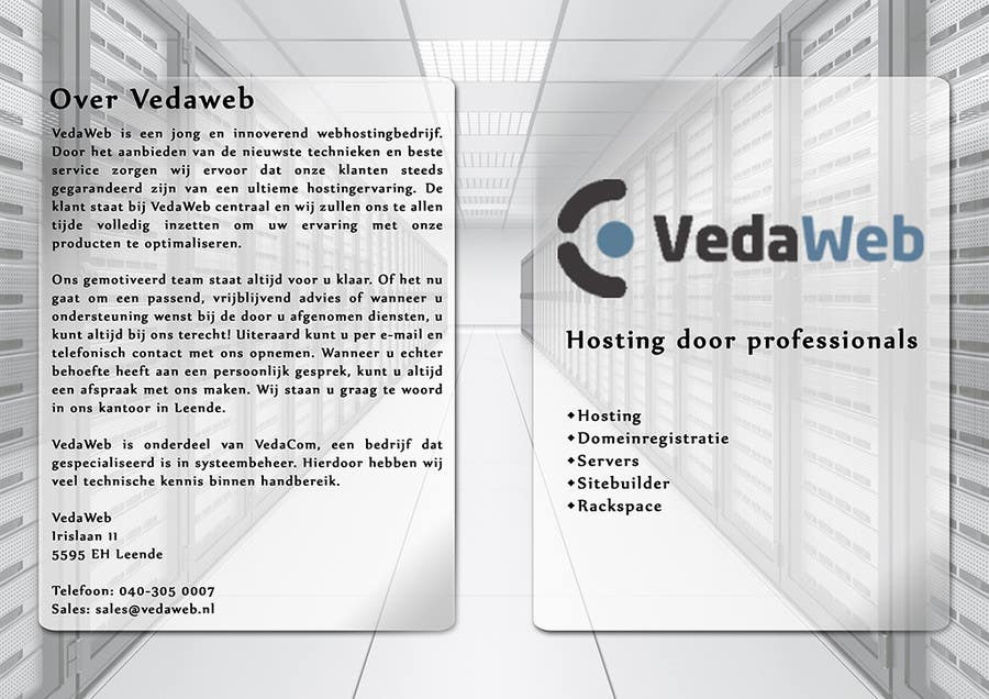Penyertaan Peraduan #                                        6                                      untuk                                         Design a Flyer for hosting company