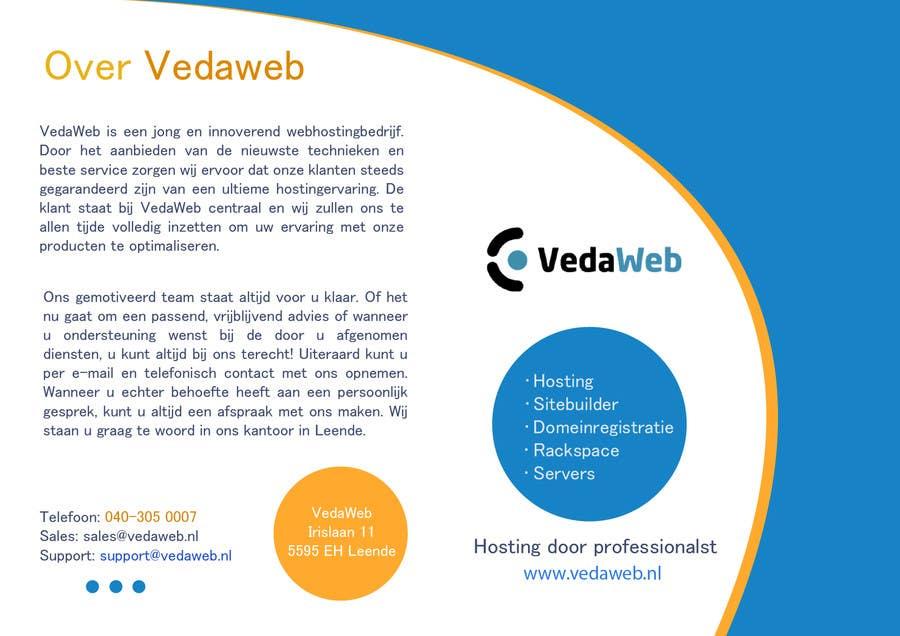 Penyertaan Peraduan #                                        7                                      untuk                                         Design a Flyer for hosting company