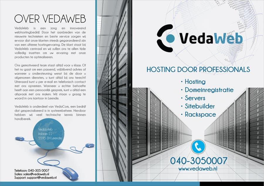Penyertaan Peraduan #                                        9                                      untuk                                         Design a Flyer for hosting company