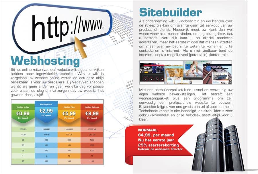 Penyertaan Peraduan #                                        23                                      untuk                                         Design a Flyer for hosting company