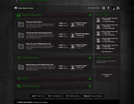 #29 for Forum Board Design for Ghostmarket by wademd