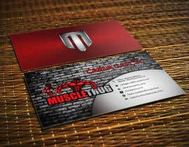 #27 для Design some Business Cards for Muscle Thug от LIPScreations