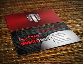 #30 для Design some Business Cards for Muscle Thug от LIPScreations