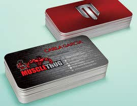#31 для Design some Business Cards for Muscle Thug от LIPScreations