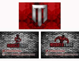 #29 для Design some Business Cards for Muscle Thug от twodnamara