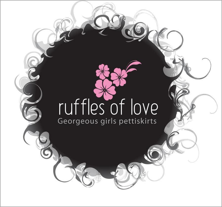 Entry #125 by AdartIndia for Logo Design for Ruffles of Love