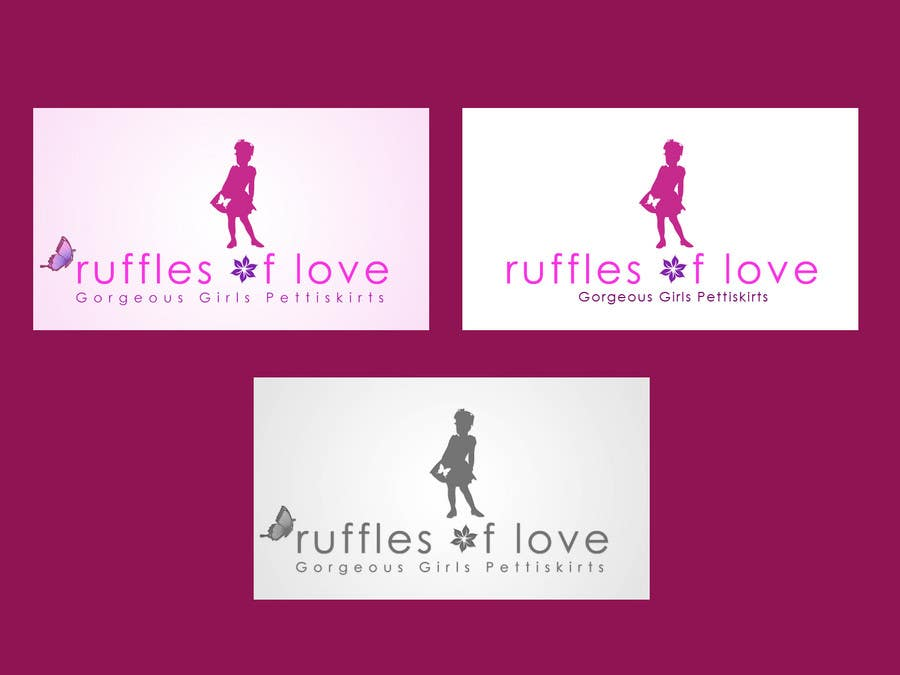 Contest Entry #199 for Logo Design for Ruffles of Love