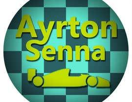 #13 para Preciso de um icone original sobre Ayrton Senna (sem foto) por JoaoPedroPereira