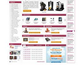 #24 pentru Website Design for auction/classifieds de către herick05