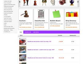 #9 pentru Website Design for auction/classifieds de către tuanrobo