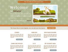 #56 untuk Wordpress Theme Design for Teaching English oleh iamheretodesign