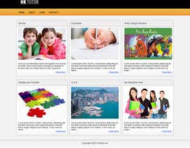 #33 para Wordpress Theme Design for Teaching English por arperado