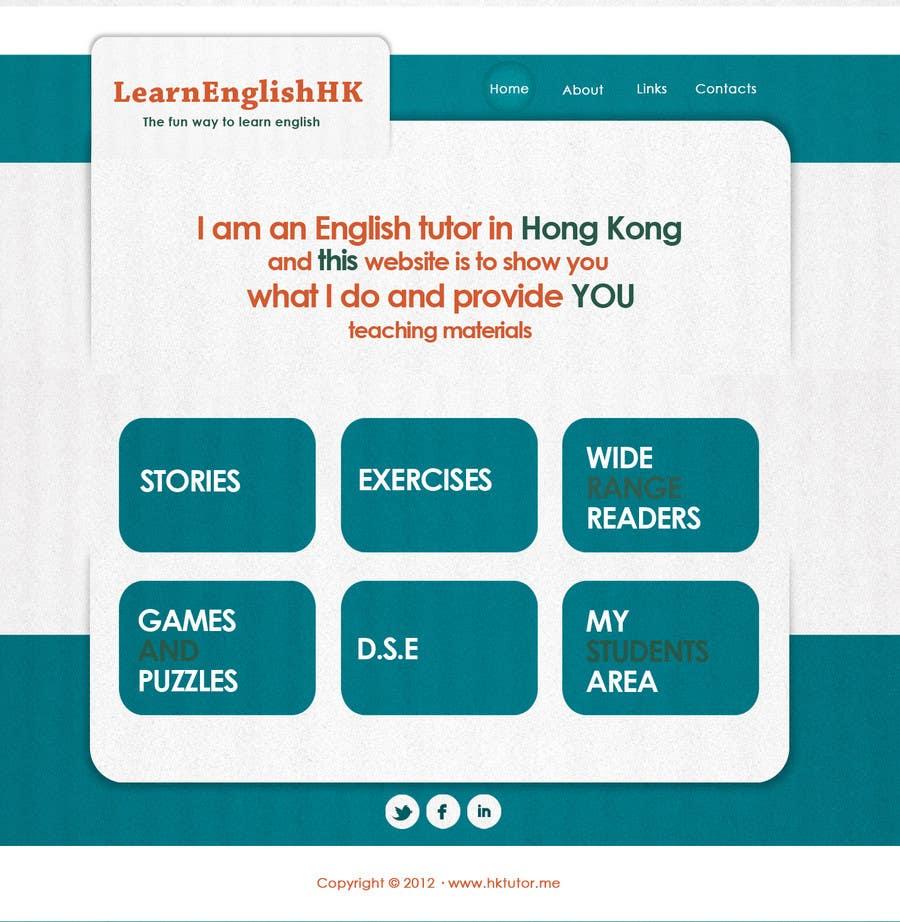 Конкурсная заявка №54 для Wordpress Theme Design for Teaching English