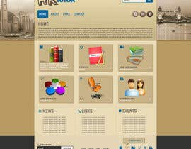 #64 untuk Wordpress Theme Design for Teaching English oleh hipnotyka