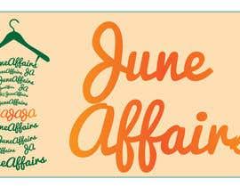 FrancescaPorro tarafından Design a Logo for June Affairs için no 34