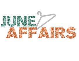 uyen3009 tarafından Design a Logo for June Affairs için no 7