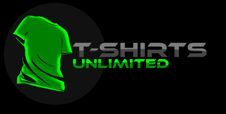 Logo for t shirt company t shirts unlimited freelancer for T shirts for business logo