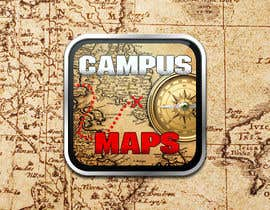 #44 untuk Graphic Design for Campus Maps (iTunes Art) oleh pbgrafix