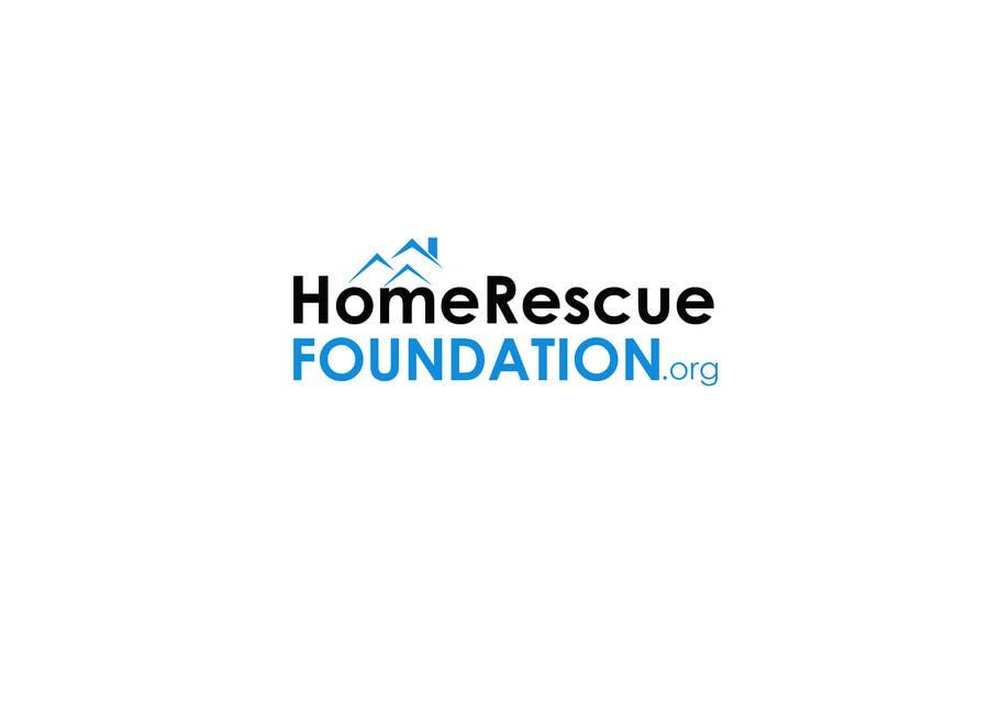 Penyertaan Peraduan #                                        42                                      untuk                                         Design a Logo for HOMERESCUEFOUNDATION.ORG
