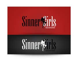 #306 para Logo Design for Sinner Girls por izzup