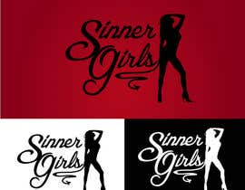#345 para Logo Design for Sinner Girls por jehlaipixy