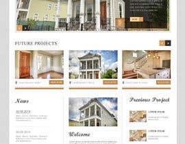 tarana1 tarafından Design a Website Mockup for Residential Builder / Real Estate Developer için no 14
