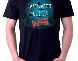 #29 for T-shirt Design for SALTWATER MILITIA by lowendmadness