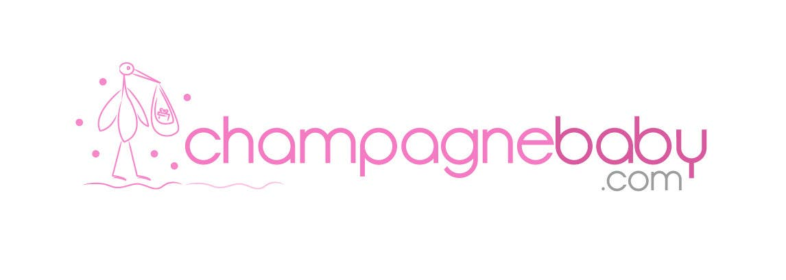 Contest Entry #16 for Logo Design for www.ChampagneBaby.com