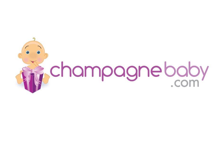 Конкурсная заявка №124 для Logo Design for www.ChampagneBaby.com