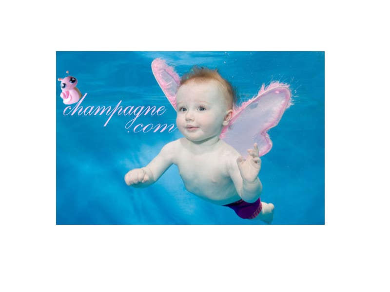 Contest Entry #114 for Logo Design for www.ChampagneBaby.com