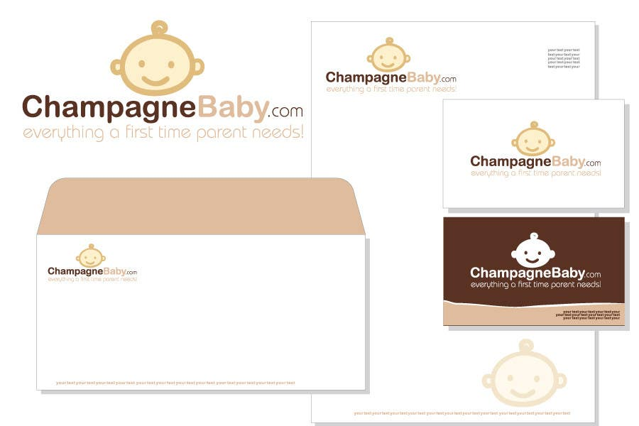 Contest Entry #122 for Logo Design for www.ChampagneBaby.com