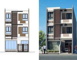 visualiz3D tarafından Do some 3D Modelling for Kothari House Elevation için no 39