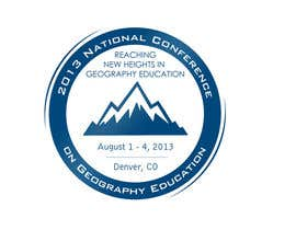 nº 33 pour Graphic Design for 2013 National Conference on Geographic Education par lihia