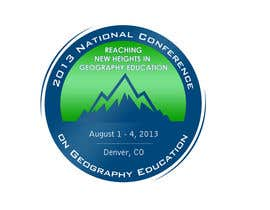nº 34 pour Graphic Design for 2013 National Conference on Geographic Education par lihia