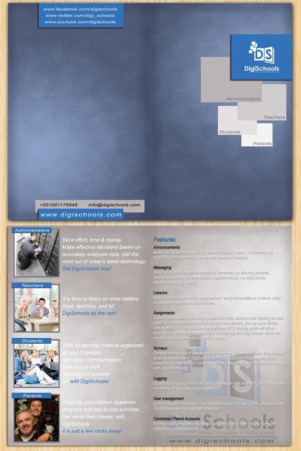 Konkurrenceindlæg #                                        5                                      for                                         Brochure Design for DigiSchools