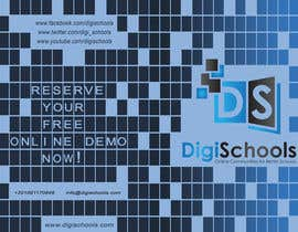 #23 pentru Brochure Design for DigiSchools de către GraphicsStudio