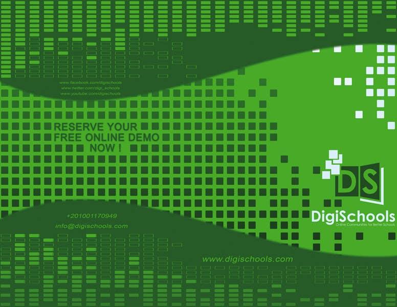Konkurrenceindlæg #                                        22                                      for                                         Brochure Design for DigiSchools