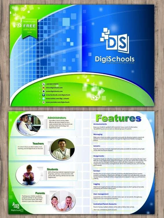 Contest Entry #                                        50                                      for                                         Brochure Design for DigiSchools
