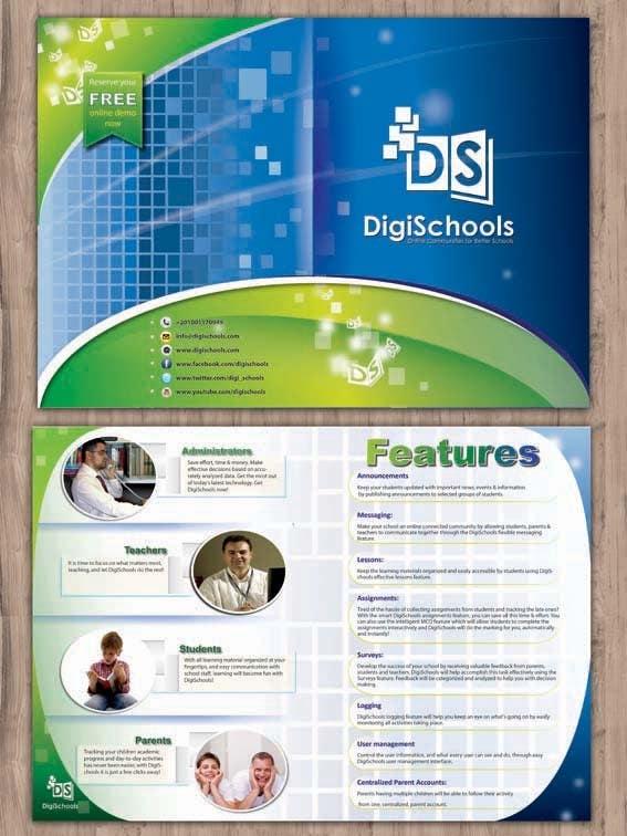 #52 for Brochure Design for DigiSchools by tarhestan