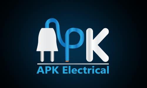 Konkurrenceindlæg #181 for Logo Design for APK Electrical