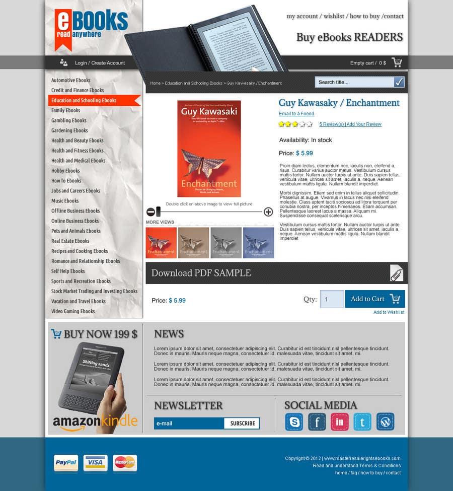Inscrição nº 13 do Concurso para Website Design for Innovalist