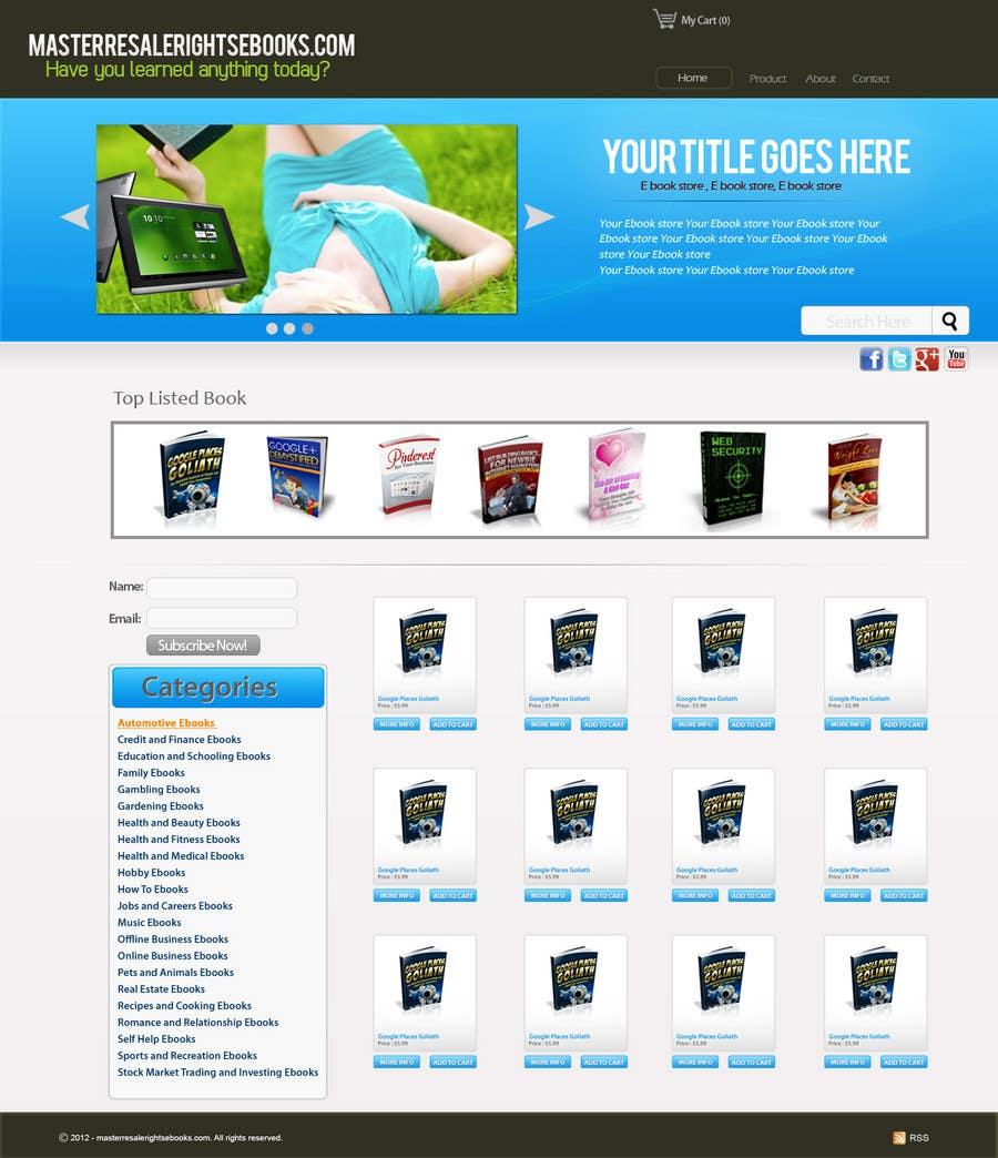 Inscrição nº 12 do Concurso para Website Design for Innovalist