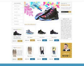 #23 for Design a Website Mockup for ecommerce site dresses and shoes by saymamun