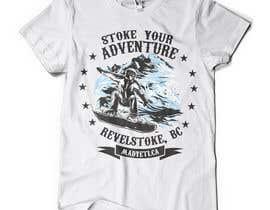 #29 para Alpine Sport T Shirt Design (1 to 3 colors) por valentinmihai07