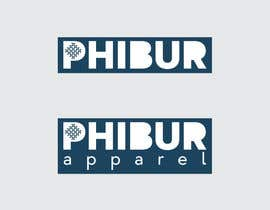 #235 for Design a Logo for Phibur Apparel af ClainIoan
