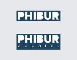 #238 for Design a Logo for Phibur Apparel af ClainIoan