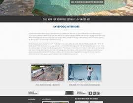 #54 cho Design a Website Mockup/Including Logo for Pool Renovation company bởi hinaltech
