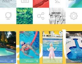 #21 cho Design a Website Mockup/Including Logo for Pool Renovation company bởi tallsquare