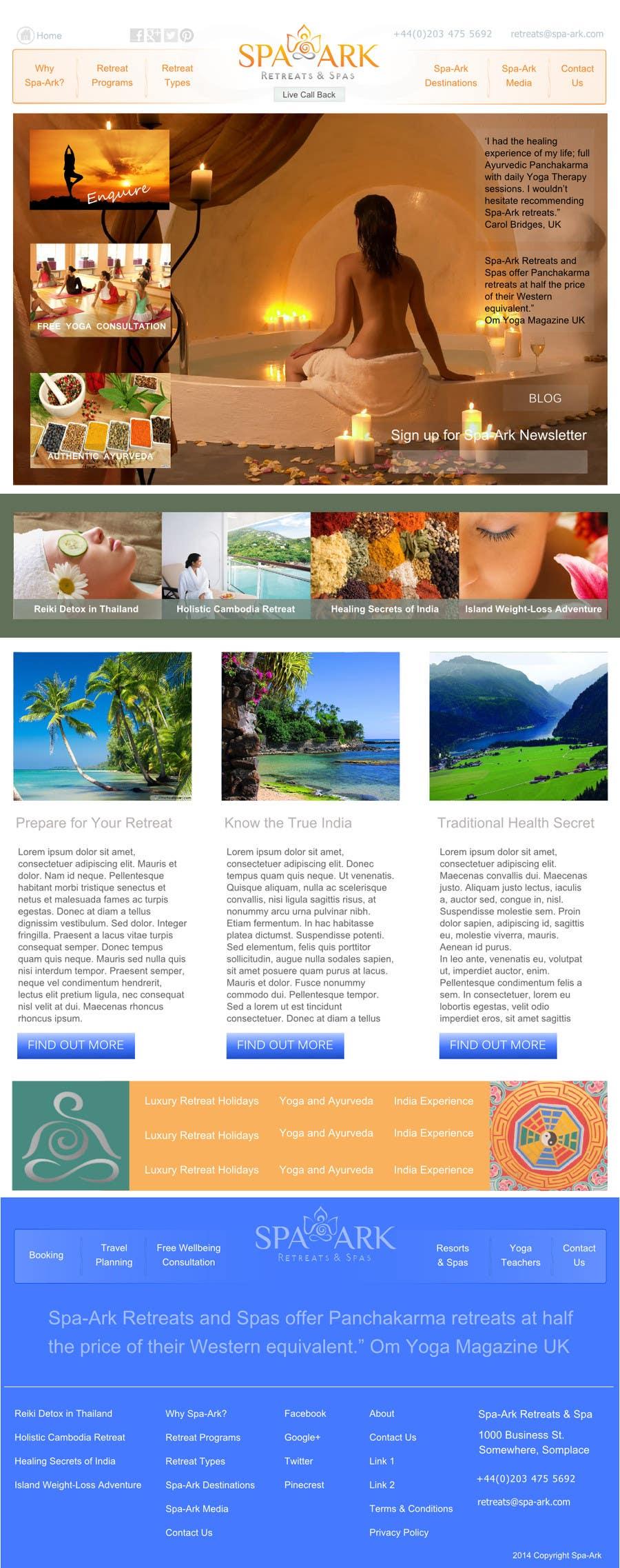Inscrição nº                                         18                                      do Concurso para                                         Design a Wordpress Template for Travel Website